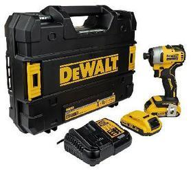 DeWalt DCF809D2T-QW akumulatorowy klucz udarowy 18V 2x2,0Ah 1/4