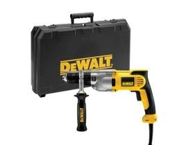 DeWalt DWD524KS-QS dwubiegowa wiertarka udarowa 1100W ze sprzęgłem bezpieczeństwa w walizce