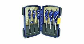 Irwin 10506628 zestaw wierteł do drewna 6 elementów Blue Groove