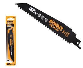 DeWalt DT2314L-QZ brzeszczot do drewna z gwoździami 305x4,2 mm Extreme do piły szablastej komplet 5 szt.