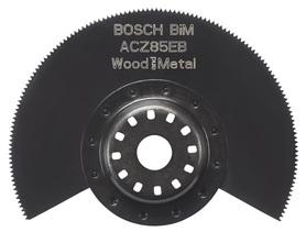 BOSCH BRZESZCZOT SEGMENTOWY BIM ACZ 85 EB WOOD AND METAL 85 mm