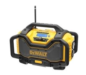 DeWalt DCR027-QW akumulatorowe radio / ładowarka 18V XR DAB+/FM, Bluetooth® bez akumulatora w kartonie
