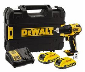 DeWalt DCD708D2T-QW wiertarko-wkrętarka 18V 2x2,0Ah XR Li-Ion w walizce