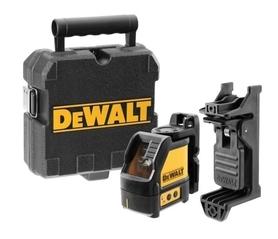 DeWalt DW088CG-XJ samopoziomujący laser krzyżowy, model z zieloną wiązką lasera w walizce