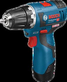 Bosch GSR 12V-20 akumulatorowa wiertarko-wkrętarka 12V 2x3,0Ah w L-Boxx 06019D4005