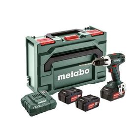Metabo BS 18 LT Set wiertarko-wkrętarka 18V 3x4,0Ah w walizce 602102960