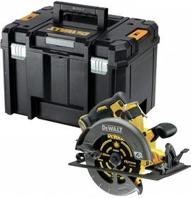 DeWalt DCS578NT-XJ akumulatorowa ręczna pilarka tarczowa 190 mm 54V/18V Flexvolt silnik bezszczotkowy bez akumulatorów i ładowarki w walizce