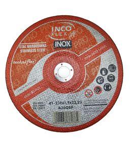 INCOFLEX TARCZA DO METALU INOX 230 x 1,9mm
