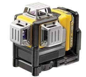 DeWalt DCE089D1R-QW laser samopoziomujący 3-wiązkowy 360° 10,8V - czerwony w walizce