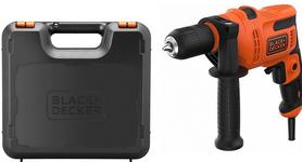 Black&Decker BEH200K-QS wiertarka udarowa 500W uchwyt samozaciskowy w walizce