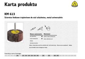 K.ŚCIERNICA LT.80*50*6   P80   KM613...