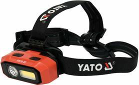 YATO YT-08594 LATARKA CZOŁOWA 3,7V 800lm CZUJNIK RUCHU