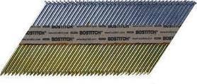 Bostitch PT28R50 gwoździe 33° 2,8x50 mm pierścieniowe łączone taśmą papierową 2200 szt.