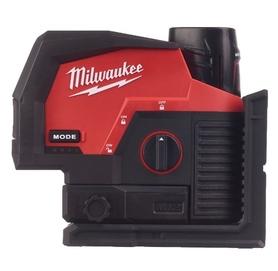 Milwaukee M12CLLP-301C laser płaszczyznowy wiązka zielona 12V 1x3,0Ah 38 m 4933478100