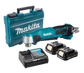Makita DA332DSAE akumulatorowa wiertarka kątowa 10,8V 2x2,0Ah w walizce