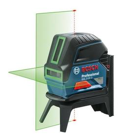 Bosch GCL 2-15 G laser krzyżowy wiązka zielona + uchwyt RM1 w walizce 0601066J00