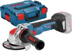 Bosch GWX 18V-10 C akumulatorowa szlifierka kątowa 125 mm 18V Li-Ion X-Lock z silnikiem bezszczotkowym bez akumulatorów i ładowarki w L-Boxx 06017B0200