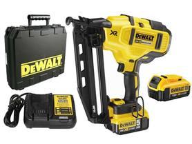 DeWalt DCN660P2-QW akumulatorowa gwoździarka do wykończeń 18V 2x5,0Ah XR 2-biegowa z silnikiem bezszczotkowym w walizce