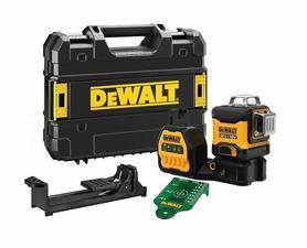 DeWalt DCE089NG18-XJ laser liniowy 12/18V wiązka zielona w walizce