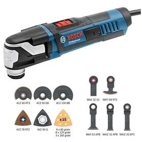 Bosch GOP 55-36 urządzenie wielofunkcyjne 500W + osprzęt w L-Boxx 0601231101