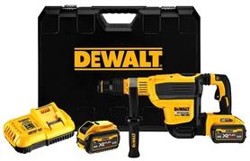 DeWalt DCH614X2-QW akumulatorowa młotowiertarka 54V/18V 2x9,0Ah XR Flexvolt SDS-Max w walizce
