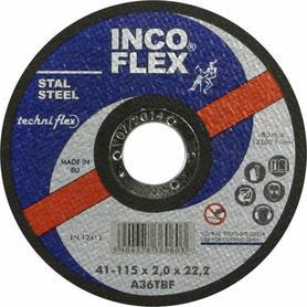 INCOFLEX TARCZA DO METALU 230 x 3,2 x 22,2mm