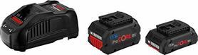 Bosch ProCORE 2 akumulatory 18V 1x5,5Ah 1x4,0Ah z ładowarką GAL 1880 CV Professional w kartonie 1600A0214A