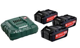Metabo zestaw startowy akumulatory 18V 3x5.2Ah + ładowarka ASC 30-36V 685048000