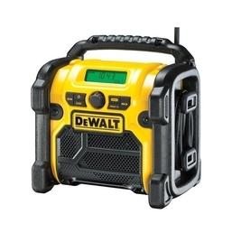 DeWalt DCR020-QW akumulatorowo-sieciowe radio budowlane system DAB(+)/FM XR Li-Ion bez akumulatorów i ładowarki
