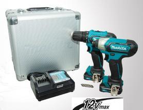 Makita CLX224X zestaw Combo 12V (DF333D+TD110D) 2x1,5Ah