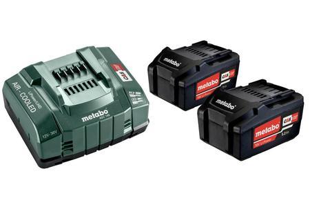 Metabo zestaw akumulatorów 18V 2x5,2Ah z ładowarką 685051000 (1)