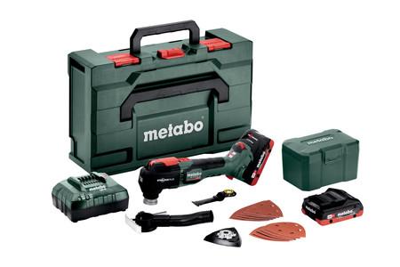 Metabo MT 18 LTX BL akumulatorowe urządzenie wielofunkcyjne 18V 2x4,0Ah w walizce 613088800 (1)